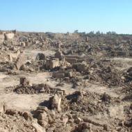 ارگِ بم بعد از زلزله - زمینلرزه بم ۱۳۸۲