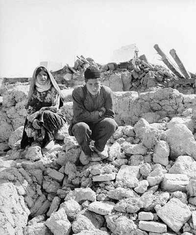 زمين لرزه بوئين زهرا در سال ۱۳۴۱ ايران